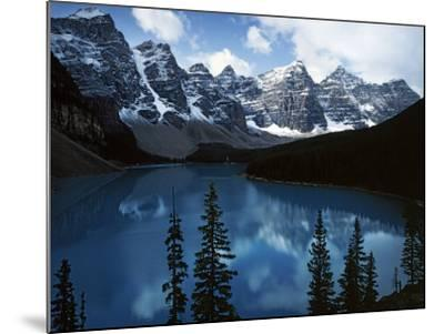 Valley of Ten Peaks, Lake Morain, Banff National Park, Alberta, Canada-Charles Gurche-Mounted Photographic Print