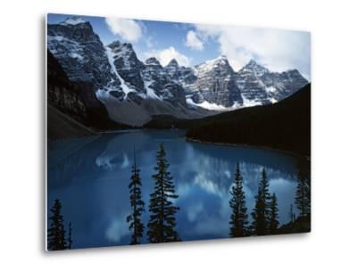 Valley of Ten Peaks, Lake Morain, Banff National Park, Alberta, Canada-Charles Gurche-Metal Print