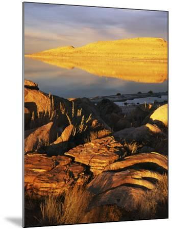 Stansbury Island, Great Salt Lake, Utah, USA-Charles Gurche-Mounted Photographic Print