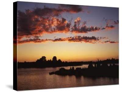 Lake Anna State Park, Virginia, USA-Charles Gurche-Stretched Canvas Print