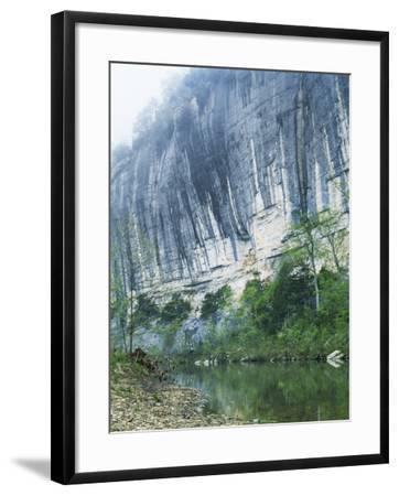 Roark Bluff, Buffalo National River, Arkansas, USA-Charles Gurche-Framed Photographic Print