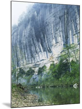 Roark Bluff, Buffalo National River, Arkansas, USA-Charles Gurche-Mounted Photographic Print