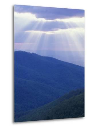 Sunrise over Buck Hollow, Shenandoah National Park, Virginia, USA-Charles Gurche-Metal Print