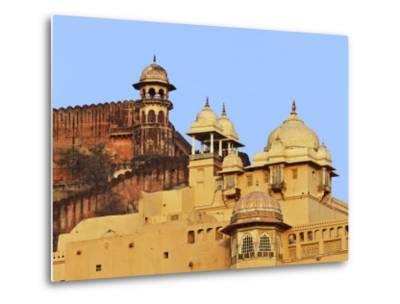 Amber Fort, Jaipur, India-Adam Jones-Metal Print