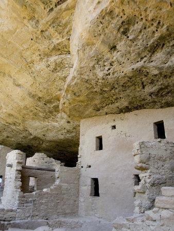 Spruce Tree House Ruins, Mesa Verde National Park, Colorado, USA-Cindy Miller Hopkins-Premium Photographic Print