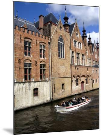 Medieval Architecture along the Canals of Brugge, Belgium-Cindy Miller Hopkins-Mounted Photographic Print