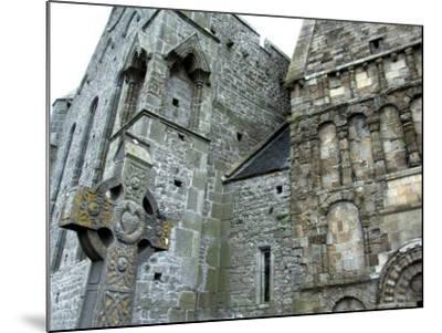 Historic Spot Where St. Patrick Preached, Rock of Cashel, Ireland-Cindy Miller Hopkins-Mounted Photographic Print