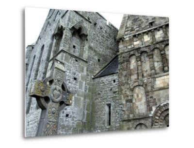 Historic Spot Where St. Patrick Preached, Rock of Cashel, Ireland-Cindy Miller Hopkins-Metal Print