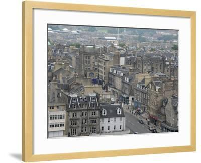 New Town from Edinburgh Castle, Scotland-Cindy Miller Hopkins-Framed Photographic Print