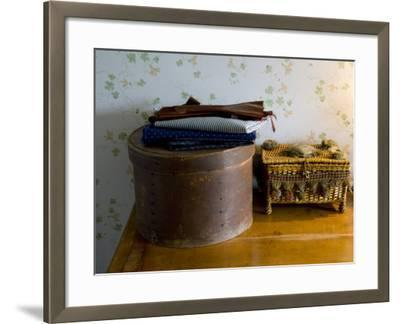 Sewing Box, Anne of Green Gables Home, Prince Edward Island, Canada-Cindy Miller Hopkins-Framed Photographic Print