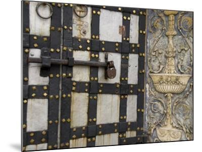 Iron Locked Door, The Kremlin, Moscow, Russia-Cindy Miller Hopkins-Mounted Photographic Print