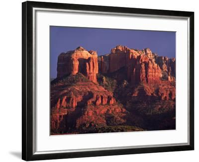Cathedral Rock at Sunset, Sedona, Arizona, USA-Charles Sleicher-Framed Photographic Print