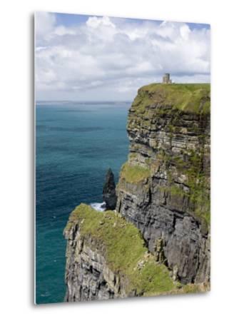 Cliffs, County Clare, Ireland-William Sutton-Metal Print