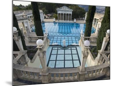Neptune Pool at Hearst Castle, San Simeon, California, USA-Rob Tilley-Mounted Photographic Print