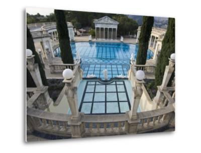 Neptune Pool at Hearst Castle, San Simeon, California, USA-Rob Tilley-Metal Print