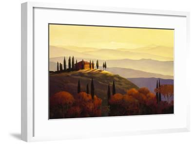 Tuscan Sunrise-Max Hayslette-Framed Premium Giclee Print