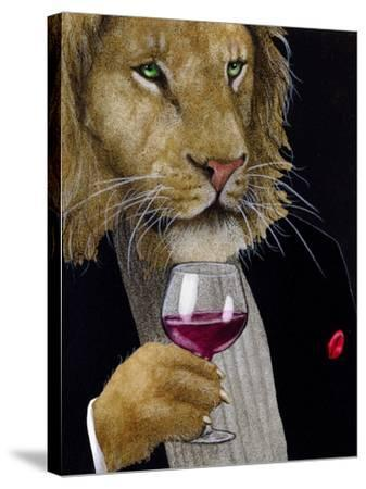 The Wine King-Will Bullas-Stretched Canvas Print