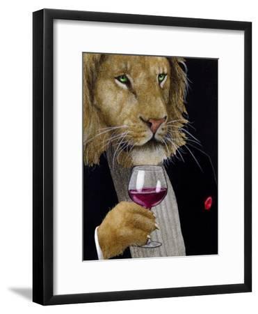 The Wine King-Will Bullas-Framed Premium Giclee Print