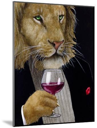 The Wine King-Will Bullas-Mounted Premium Giclee Print