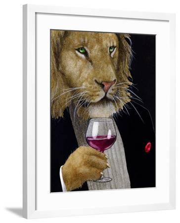 The Wine King-Will Bullas-Framed Premium Giclee Print