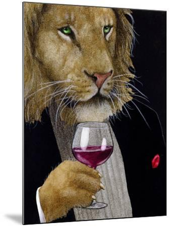 The Wine King-Will Bullas-Mounted Premium Giclee Print