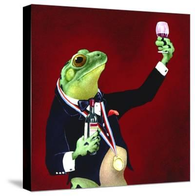 Sommelier-Will Bullas-Stretched Canvas Print