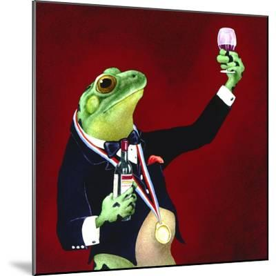 Sommelier-Will Bullas-Mounted Premium Giclee Print