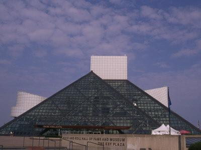 Rock and Roll Hall of Fame in Downtown Cleveland--Premium Photographic Print