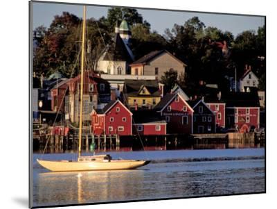 Lunenburg Harbor, an Old German Fishing Village in Nova Scotia-Richard Nowitz-Mounted Photographic Print