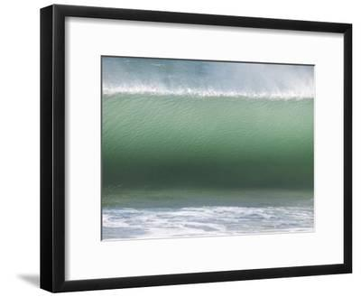 Huge Wave Rolls to Shore-Stacy Gold-Framed Photographic Print