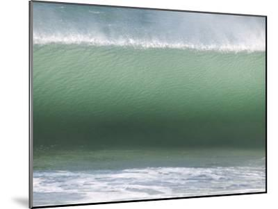 Huge Wave Rolls to Shore-Stacy Gold-Mounted Photographic Print
