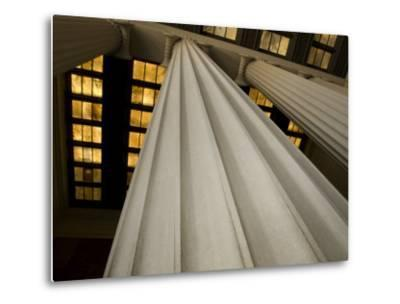 Columns of the Lincoln Memorial-Stacy Gold-Metal Print