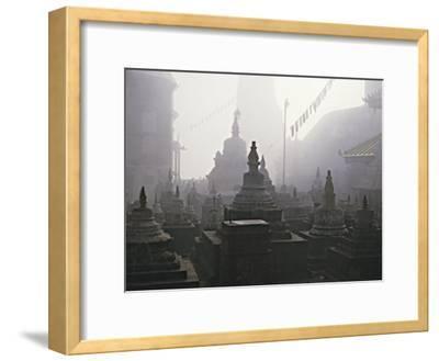 Katmandu Temple,Nepal-David Edwards-Framed Photographic Print