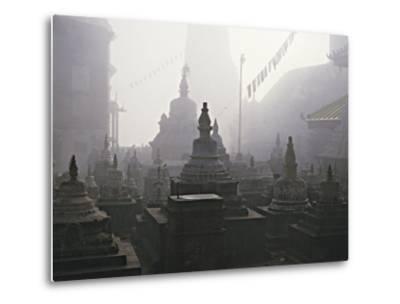 Katmandu Temple,Nepal-David Edwards-Metal Print