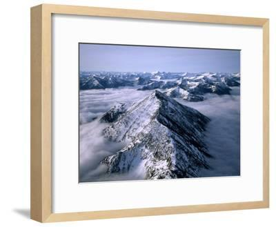 Aerial View of Montana's Rocky Mountain Front-Joel Sartore-Framed Photographic Print