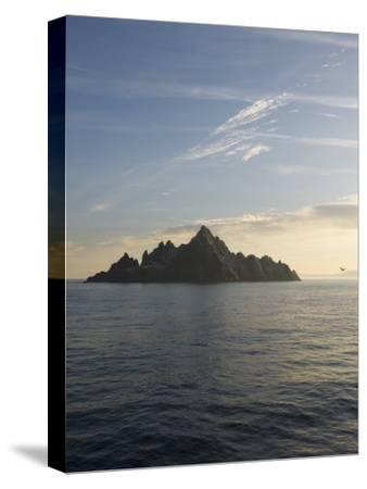 Early Morning View of Little Skellig, Home to Over 20,000 Pairs of Northern Gannets, Morus Bassanus-Keenpress-Stretched Canvas Print