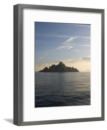 Early Morning View of Little Skellig, Home to Over 20,000 Pairs of Northern Gannets, Morus Bassanus-Keenpress-Framed Photographic Print