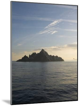Early Morning View of Little Skellig, Home to Over 20,000 Pairs of Northern Gannets, Morus Bassanus-Keenpress-Mounted Photographic Print