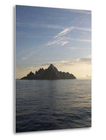 Early Morning View of Little Skellig, Home to Over 20,000 Pairs of Northern Gannets, Morus Bassanus-Keenpress-Metal Print