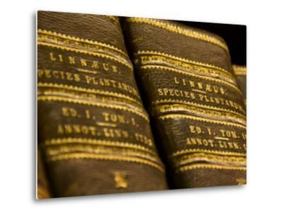 Books in the Library of Carl Linnaeus-Mattias Klum-Metal Print
