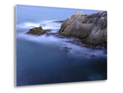 Rough Sea Hitting Cliffs on the East Coast of Puerto Rico-Raul Touzon-Metal Print