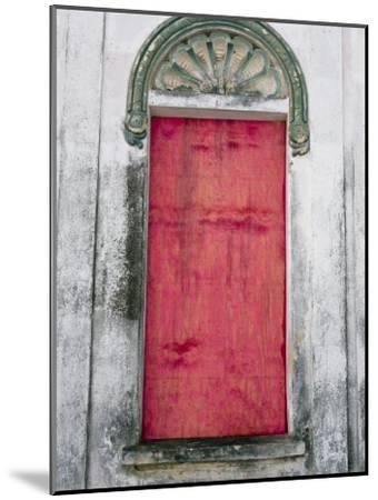 Door in a Building in a Small Town West of Sao Paulo, Brazil-Scott Warren-Mounted Photographic Print