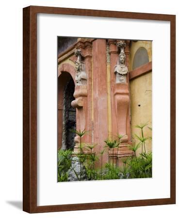 Outdoor Architectural Detail in the Moorish-Built Alcazar-Scott Warren-Framed Photographic Print