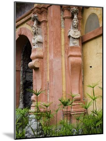 Outdoor Architectural Detail in the Moorish-Built Alcazar-Scott Warren-Mounted Photographic Print