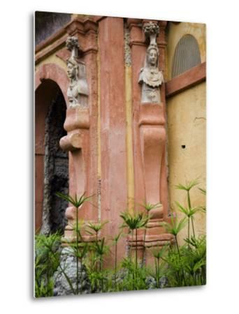 Outdoor Architectural Detail in the Moorish-Built Alcazar-Scott Warren-Metal Print