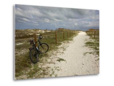 Path Leads to the Beach at St. George's Island, Florida-Stephen Alvarez-Metal Print