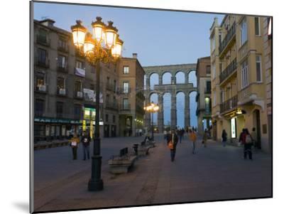 1st Century A.D. Roman Aqueduct in Segovia-Scott Warren-Mounted Photographic Print