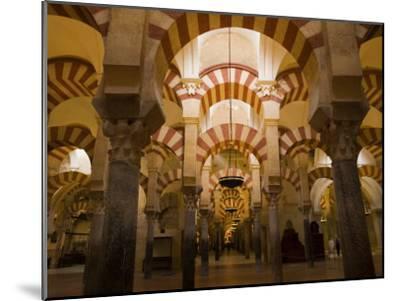 Interior View of the Mezquita, an 8th Century Mosque-Scott Warren-Mounted Photographic Print