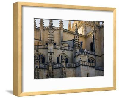 Gothic Detail on Segovia's Cathedral-Scott Warren-Framed Photographic Print