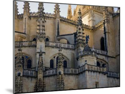 Gothic Detail on Segovia's Cathedral-Scott Warren-Mounted Photographic Print